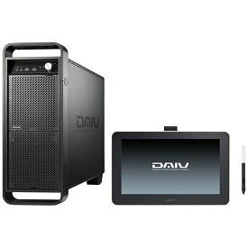 マウスコンピュータ MouseComputer DAWSET104S2M16H デスクトップパソコン DAIV(13.3型 液晶タブレット Wacom One付属) [モニター無し /intel Core i5 /メモリ:16GB /HDD:1TB /SSD:256GB]