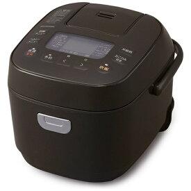 アイリスオーヤマ IRIS OHYAMA 炊飯器 ブラウン KRC-ME30-T [マイコン /3合]