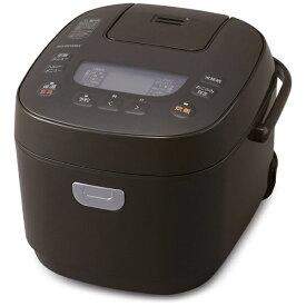 アイリスオーヤマ IRIS OHYAMA 炊飯器 ブラウン KRC-ME50-T [5.5合 /マイコン]