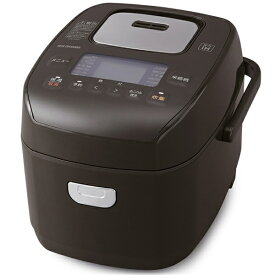 アイリスオーヤマ IRIS OHYAMA 炊飯器 ブラウン KRC-PD30-T [3合 /圧力IH]