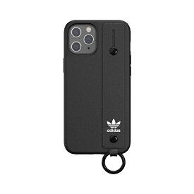 アディダス adidas iPhone 12 Pro Max 6.7インチ対応OR Hand Strap Case FW20 ブラック 42395