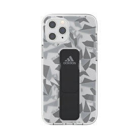 アディダス adidas iPhone 12 Pro Max 6.7インチ対応SP Clear Grip Case FW20 GY/BK 42447