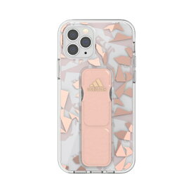 アディダス adidas iPhone 12/12 Pro 6.1インチ対応 SP Clear Grip Case FW20 ピンク 42449