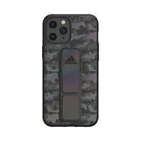 アディダス adidas iPhone 12 Pro Max 6.7インチ対応SP Grip case CAMO FW20 ブラック 42453