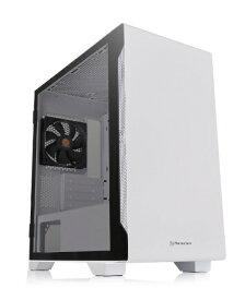 THERMALTAKE サーマルテイク PCケース S100 TG Snow Edition ホワイト CA-1Q9-00S6WN-00