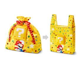 任天堂販売 Nintendo Sales スーパーマリオ ホーム&パーティ 2WAYラッピングバッグL(マリオ)