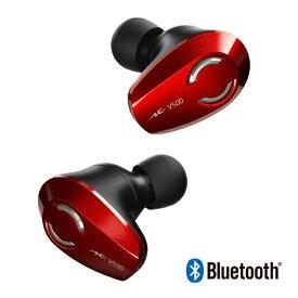 ラディウス radius フルワイヤレスイヤホン VOLT series レッド HP-V500BTR [リモコン・マイク対応 /ワイヤレス(左右分離) /Bluetooth]