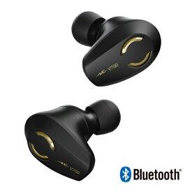ラディウス radius フルワイヤレスイヤホン VOLT series ブラックゴールド HP-V700BTN [リモコン・マイク対応 /ワイヤレス(左右分離) /Bluetooth]