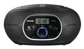 東芝 TOSHIBA CDラジオ ブラック TY-CW10-K [Bluetooth対応 /ワイドFM対応]