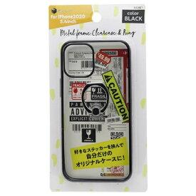 バウト BAUT iPhone 12 mini リング付ケース メタルフレーム BJI2001BK ブラック