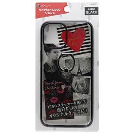 バウト BAUT iPhone 12 Pro Max リング付ケース メタルフレーム BJI2007BK ブラック