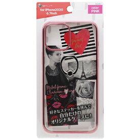 バウト BAUT iPhone 12 Pro Max リング付ケース メタルフレーム BJI2007PK ピンク