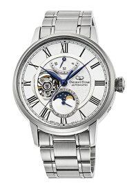 オリエント時計 ORIENT オリエントスター(Orientstar) Classic「メカニカルムーンフェイズ」 RK-AY0102S [正規品]