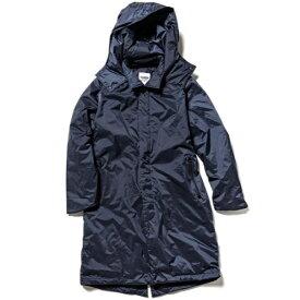 NANGA 男女兼用 オーロラステンカラーダウンコート AURORA SOUTIEN COLLAR DOWN COAT(Sサイズ/ネイビー) N1ASNVE0