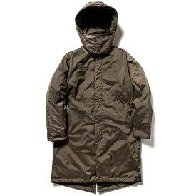 NANGA 男女兼用 オーロラステンカラーダウンコート AURORA SOUTIEN COLLAR DOWN COAT(Mサイズ/カーキ) N1ASKHF0