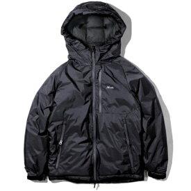 NANGA メンズ オーロラダウンジャケット AURORA DOWN JACKET(Lサイズ/ブラック) N1AJBKG2
