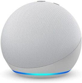 Amazon アマゾン Echo Dot (エコードット) 第4世代 - スマートスピーカー with Alexa グレーシャーホワイト B084KQRCGW [Bluetooth対応 /Wi-Fi対応]