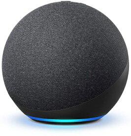 Amazon アマゾン Echo (エコー) 第4世代 - スマートスピーカーwith Alexa - プレミアムサウンド&スマートホームハブ チャコール B085G2227B [Bluetooth対応 /Wi-Fi対応]