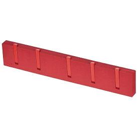 パール金属 PEARL METAL モチーフ 5連フック レッド HB-1111