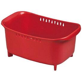 パール金属 PEARL METAL モデルノ 洗い桶 レッド HB-1974
