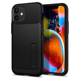 SPIGEN シュピゲン iPhone 12 mini 5.4インチ対応Slim Armor Black