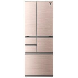 シャープ SHARP 冷蔵庫 シャインブラウン SJ-F503G-T [6ドア /観音開きタイプ /502L]《基本設置料金セット》