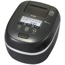 タイガー TIGER 圧力IH炊飯器 炊きたて ご泡火炊き ピュアブラック JPD-G060KP [圧力IH /3.5合]