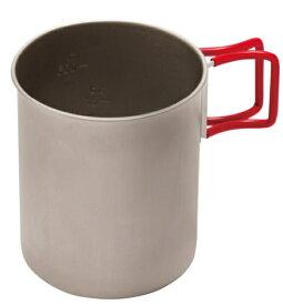 エバニュー EVERNEW マグカップ Sierra&Mug Cup チタン カップ760FD RED(760mL/径9.9×高さ11cm) EBY270R