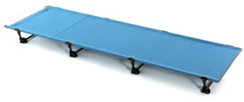 ナニワ ベンチ・ベッド スタイリッシュコット(約60×193×15cm/ブルー) NE3335