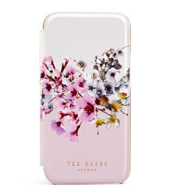 Ted Baker テッドベーカー Ted Baker - Folio Case for iPhone 12 Pro [ Jasmine Pink Cream Rose Gold ] 80495 Folio Case iPhone 12 Pro