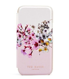 Ted Baker テッドベーカー Ted Baker - Folio Case for iPhone 12 Pro Max [ Jasmine Pink Cream Rose Gold ] 80501 Folio Case iPhone 12 Pro Max
