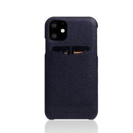 ROA ロア iPhone 12 mini 5.4インチ対応 Full Grain Leather Back Case Black Blue
