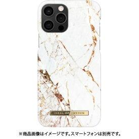 IDEAL OF SWEDEN アイディールオブスウェーデン iPhone 12/iPhone 12 Pro 用 ファッションケース A/W16 CARRARA GOLD