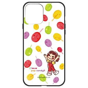 藤家 Fujiya iPhone 12 mini 5.4インチ対応 不二家 ガラスハイブリッド 不二家 ガラスハイブリッド F. ポップキャンディ