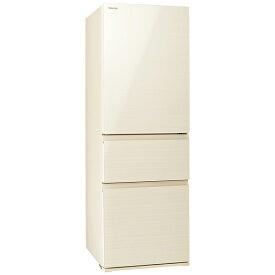 東芝 TOSHIBA 冷蔵庫 VEGETA(ベジータ)SV ラピスアイボリー GR-S36SV-ZC [3ドア /右開きタイプ /356L]《基本設置料金セット》