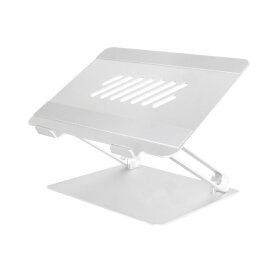 OWLTECH オウルテック ノートパソコン / タブレットPCスタンド[〜17インチ] 折り畳みアルミ シルバー OWL-PCST01-SI