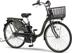 ヤマハ YAMAHA 電動アシスト自転車 PAS With SP マットダークグリーン PA26WSP [3段変速 /26インチ]【2021年モデル】【組立商品につき返品不可】 【代金引換配送不可】