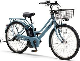 ヤマハ YAMAHA 電動アシスト自転車 PAS RIN パウダーブルー PA26RN [3段変速 /26インチ]【2021年モデル】【組立商品につき返品不可】 【代金引換配送不可】