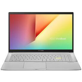 ASUS エイスース ノートパソコン VivoBook S15 ドリーミーホワイト S533EA-BQ032TS [15.6型 /intel Core i7 /SSD:1TB /メモリ:16GB /2020年12月モデル]