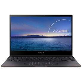ASUS エイスース UX371EA-HL003TS ノートパソコン ZenBook Flip S UX371EA(4K有機EL・コンバーチブル型) ジェードブラック [13.3型 /intel Core i7 /SSD:1TB /メモリ:16GB /2020年11月モデル]
