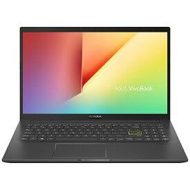 ASUS エイスース ノートパソコン VivoBook 15 インディーブラック K513EA-BQ614T [15.6型 /intel Core i7 /HDD:1TB /SSD:256GB /メモリ:8GB /2020年12月モデル]【rb_winupg】