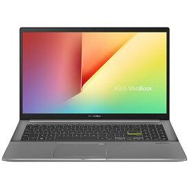ASUS エイスース S533EA-BQ027T ノートパソコン VivoBook S15 S533EA インディーブラック [15.6型 /intel Core i7 /SSD:1TB /メモリ:16GB /2020年12月モデル]