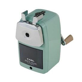 カール事務器 CARL エンゼル5 ロイヤル3 鉛筆削器 ライトグリーン A5RY3-U