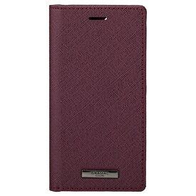 坂本ラヂヲ iPhone 12 mini EURO Passione PU Leather Book CBCEP-IP10BRD レッド