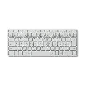 マイクロソフト Microsoft 21Y-00049 キーボード Designer Compact Glacier [Bluetooth /ワイヤレス]