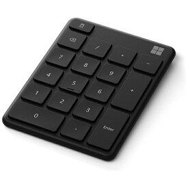 マイクロソフト Microsoft テンキー Number Pad マットブラック 23O-00002 [ワイヤレス /Bluetooth]