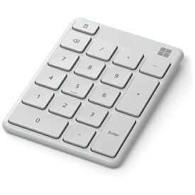 マイクロソフト Microsoft テンキー Number Pad グレイシア 23O-00018 [ワイヤレス /Bluetooth]