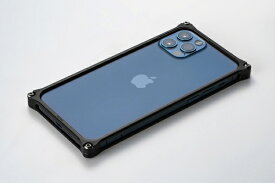 GILD design ギルドデザイン ソリッドバンパー for iPhone 12/12 Pro ブラック GI-428B
