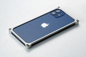GILD design ギルドデザイン ソリッドバンパー for iPhone 12 mini シルバー GI-429S