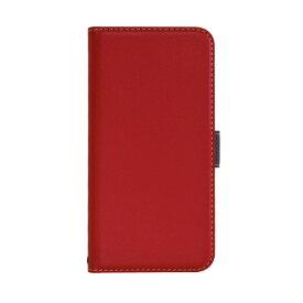 ラスタバナナ RastaBanana iPhone 12/12 Pro 6.1インチ対応 薄型手帳ケース SMG レッド×ネイビー 5702IP061BO